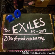 Exiles 20th anniversary cake!