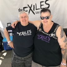 Exiles Pride booth 2018